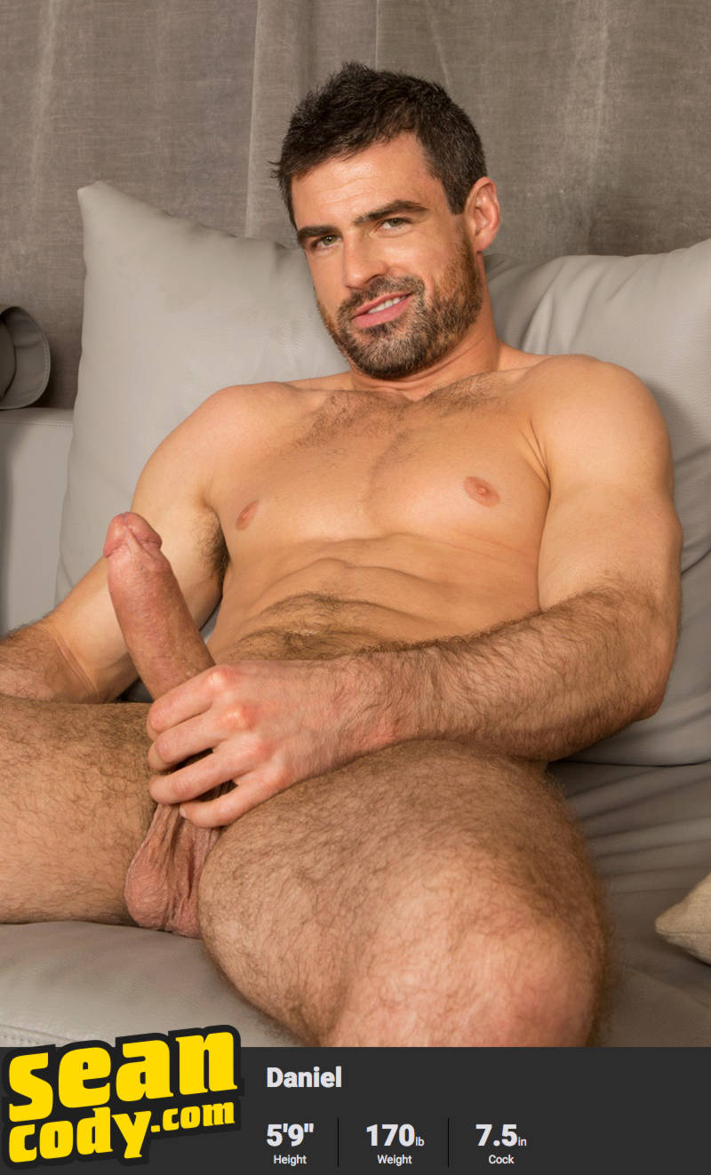 Straight jock with a hard cock