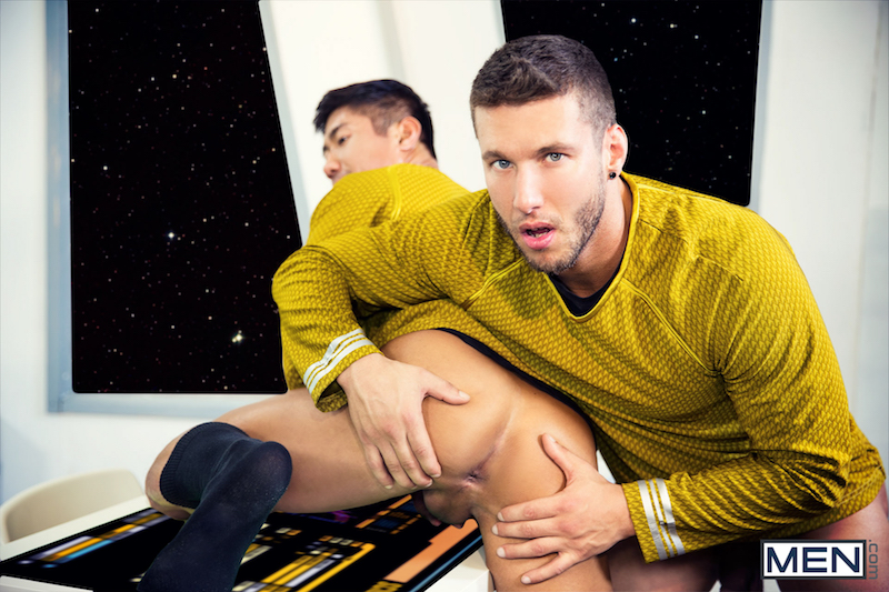 gay sex in Star Trek uniforms