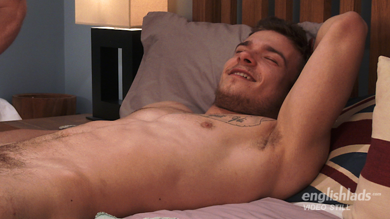 Lewis Connell in a gay hand job video