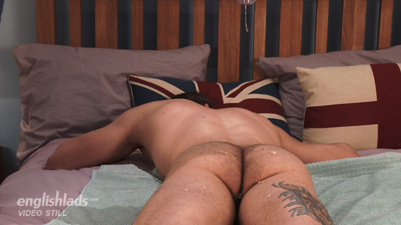 naked and hairy straight guy ass