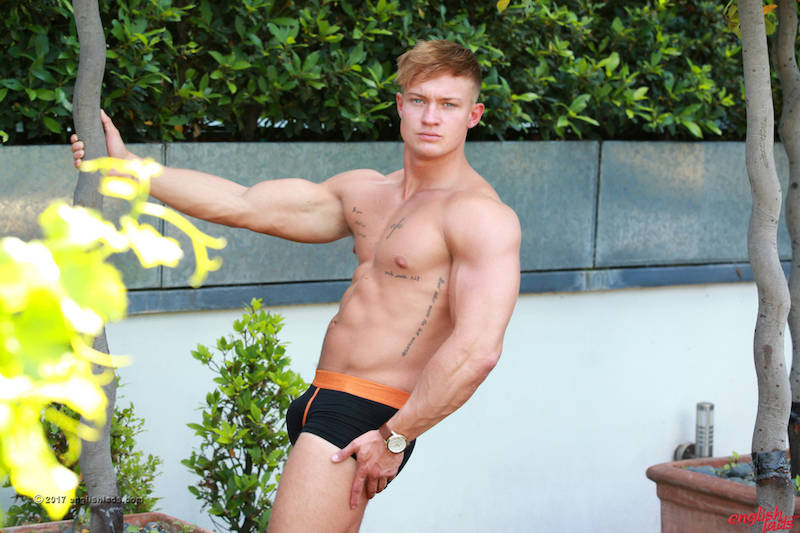 19-year-old muscle guy in gay porn
