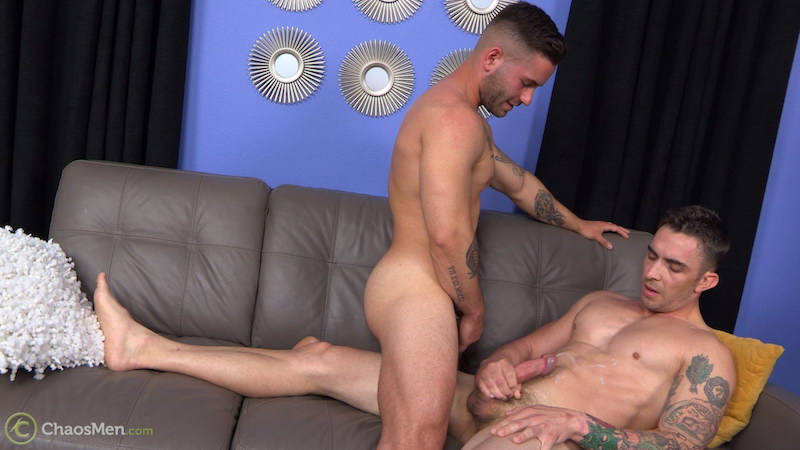 straight guys watch each other cumming