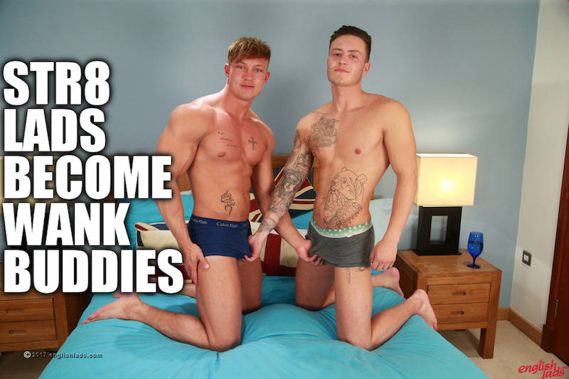 Straight jocks frotting and cumming