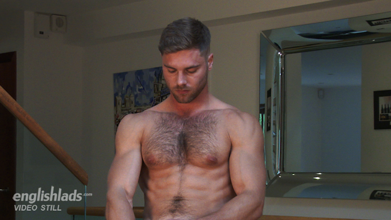rugby player cock on video
