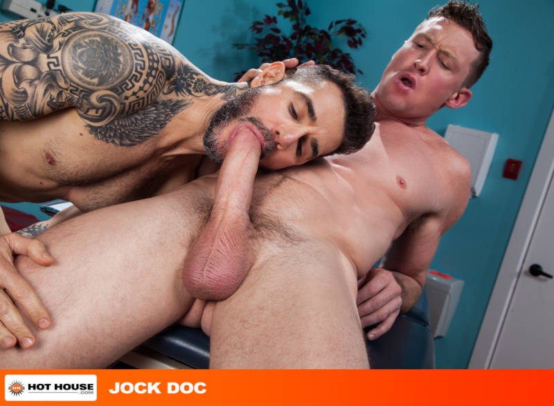 hing jock being sucked by a bearded man