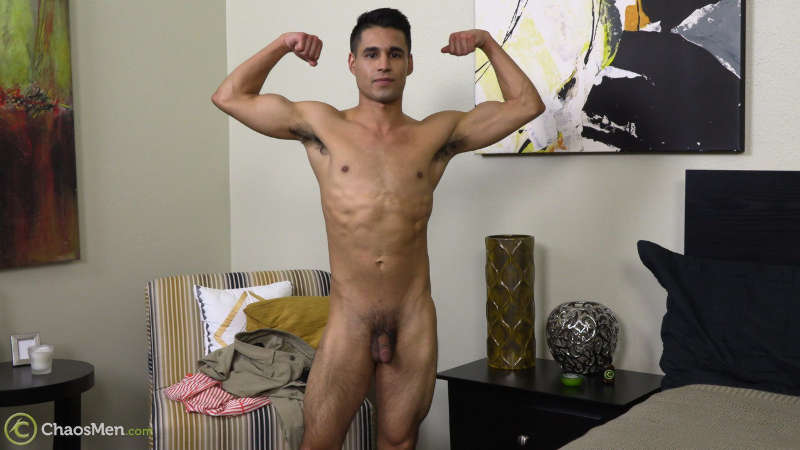 naked jock with a soft cock