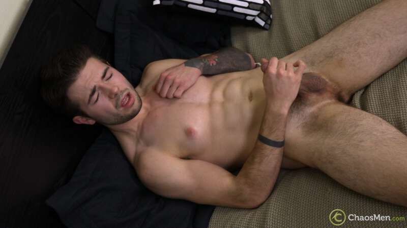 jock having an orgasm and shooting cum from his cock