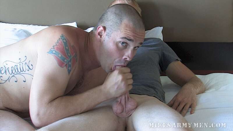straight guys together cumming