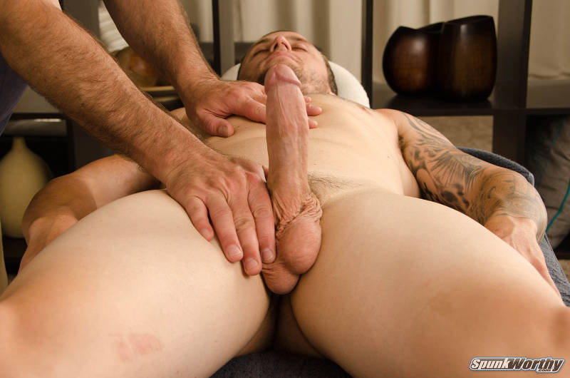 happy ending massage for a straight guy by another guy